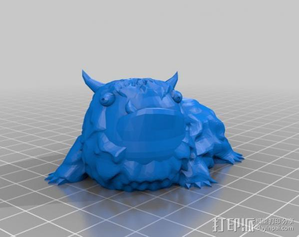 Alot 小怪兽 3D模型  图3