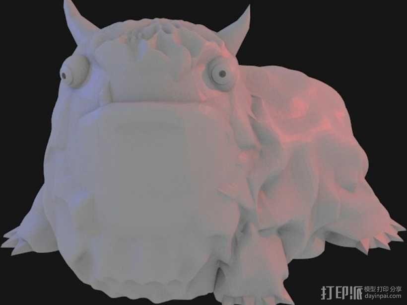 Alot 小怪兽 3D模型  图5