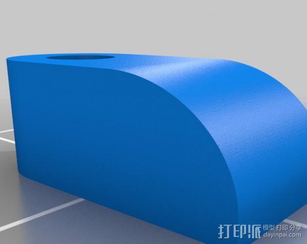 汽车钢板弹簧框架 3D模型  图7