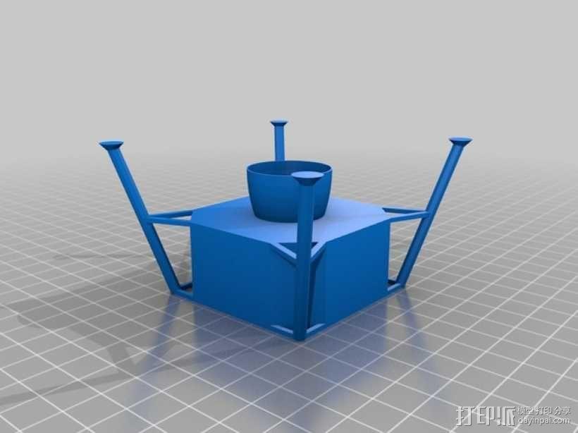 阿波罗计划:载人飞船 3D模型  图10