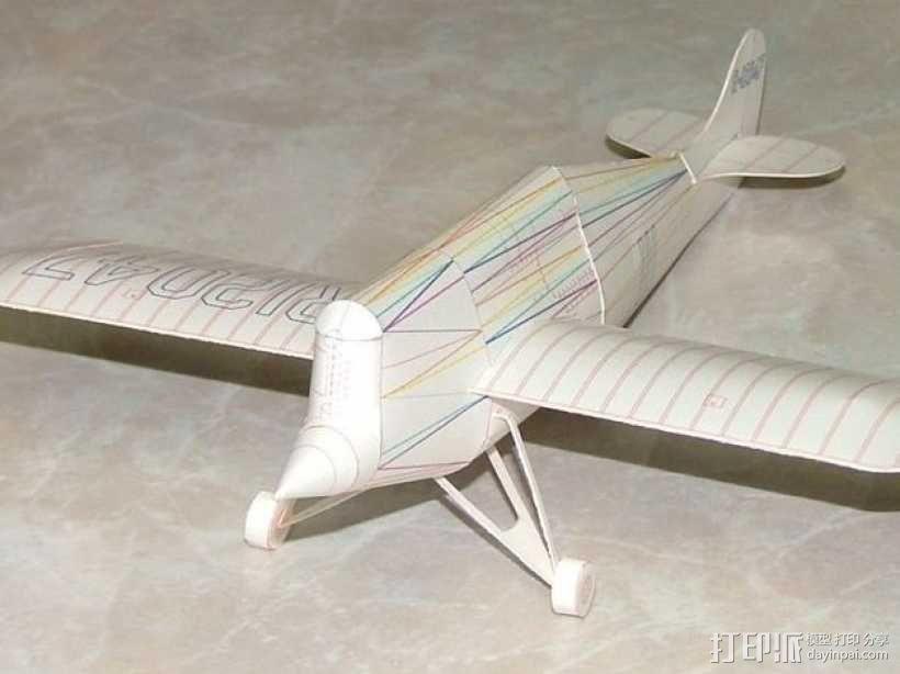 奥什科什飞机 3D模型  图2