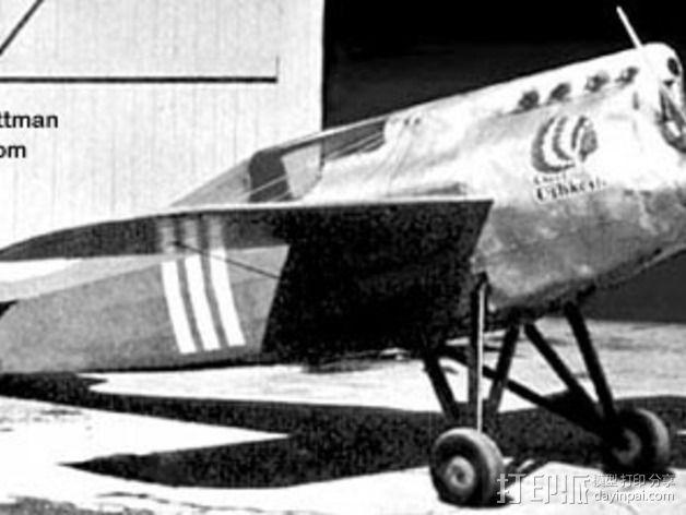 奥什科什飞机 3D模型  图4