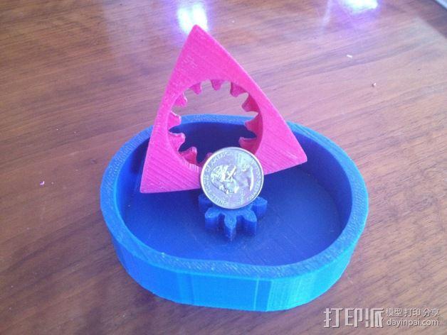 转子发动机 3D模型  图2