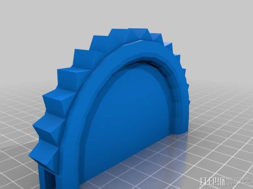 链锯 3D模型  图1