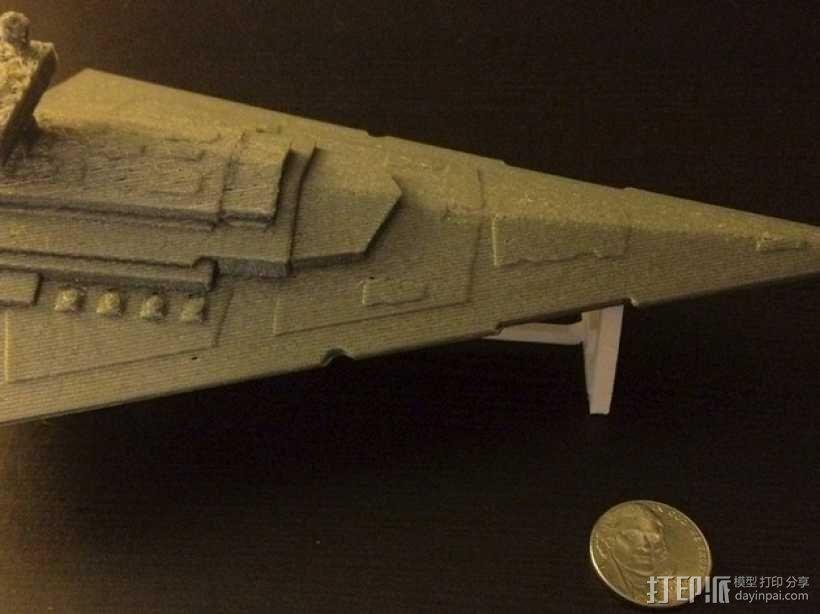 星际驱逐舰 3D模型  图1