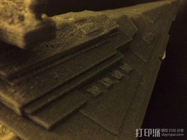 星际驱逐舰 3D模型  图2