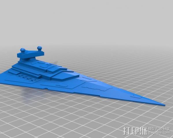 星际驱逐舰 3D模型  图8