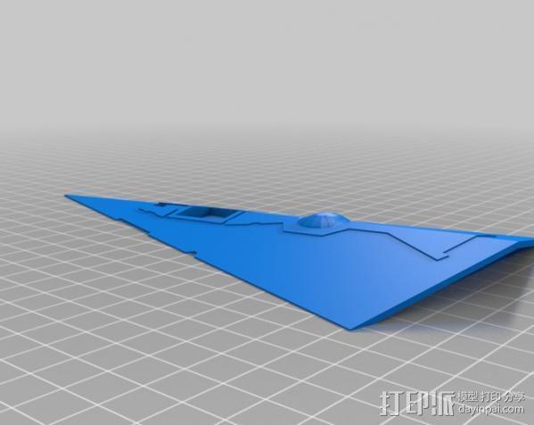星际驱逐舰 3D模型  图9