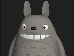 龙猫 3D模型