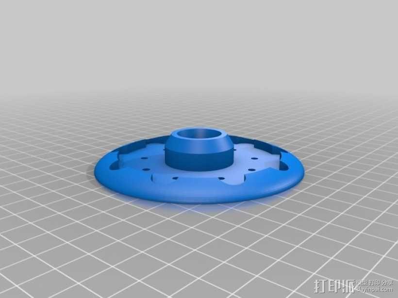 外星人 飞碟 3D模型  图2