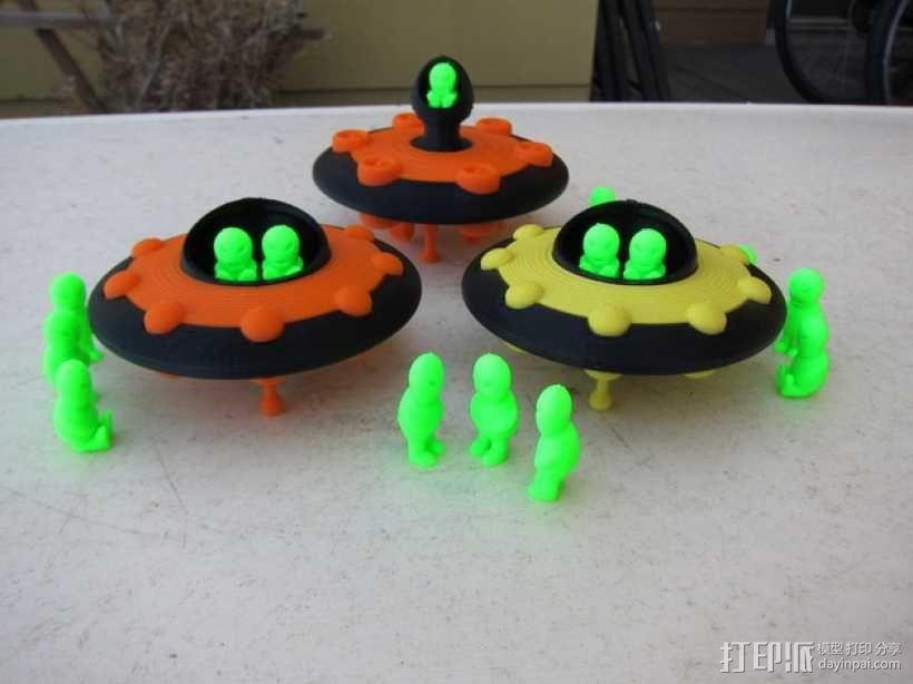 外星人 飞碟 3D模型  图5