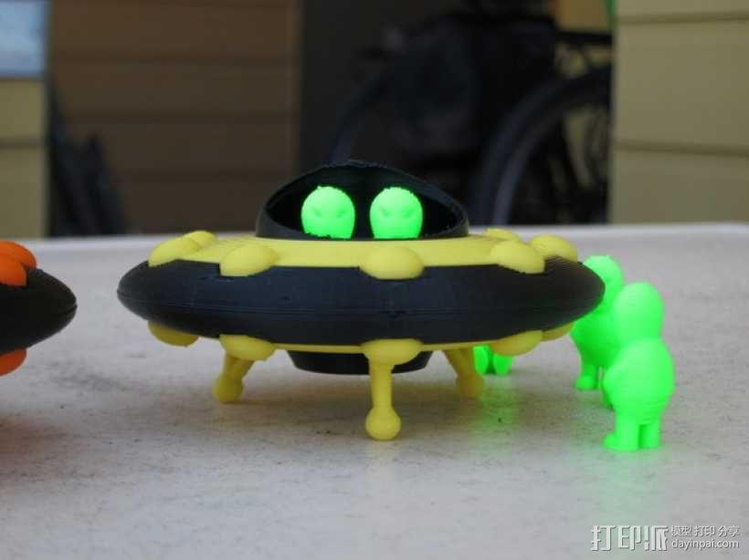 外星人 飞碟 3D模型  图4