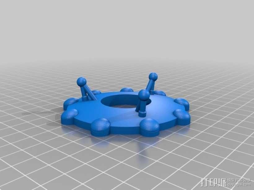 外星人 飞碟 3D模型  图7