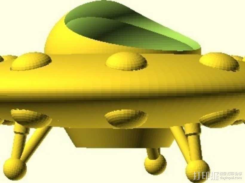 外星人 飞碟 3D模型  图8