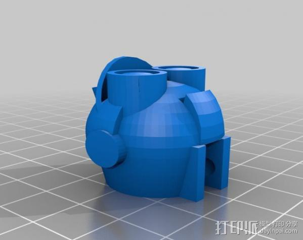 Makerbot机器人 3D模型  图4