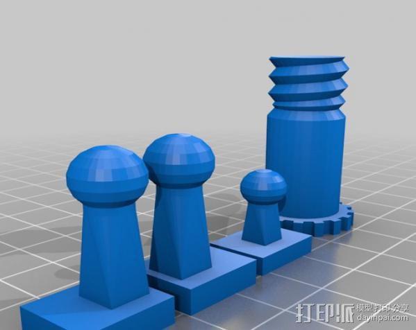 Makerbot机器人 3D模型  图7
