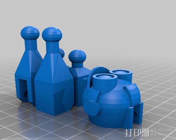 Makerbot机器人 3D模型  图8
