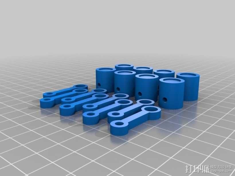v8发动机 3D模型  图3