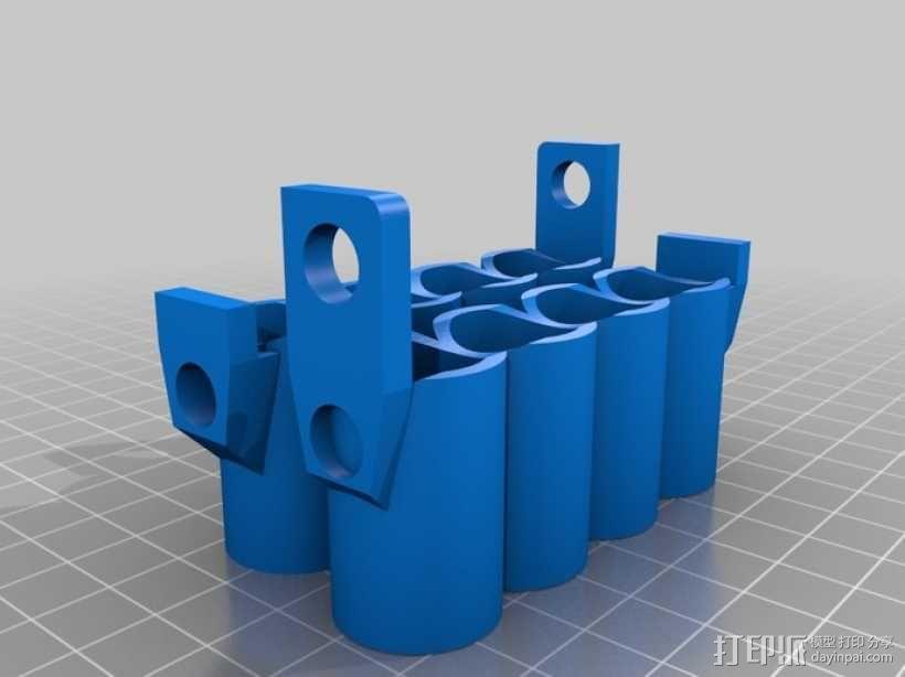 v8发动机 3D模型  图7