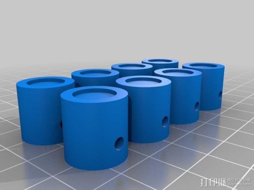 v8发动机 3D模型  图9