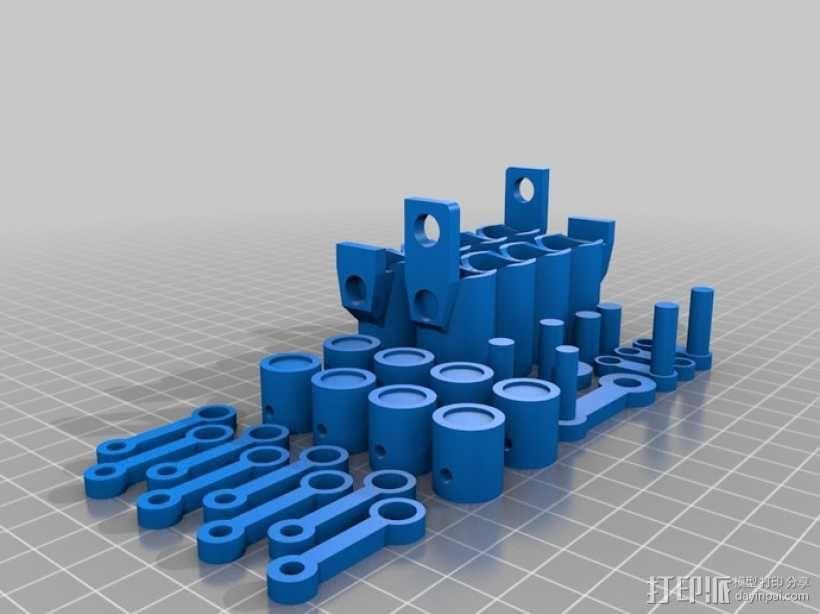v8发动机 3D模型  图11