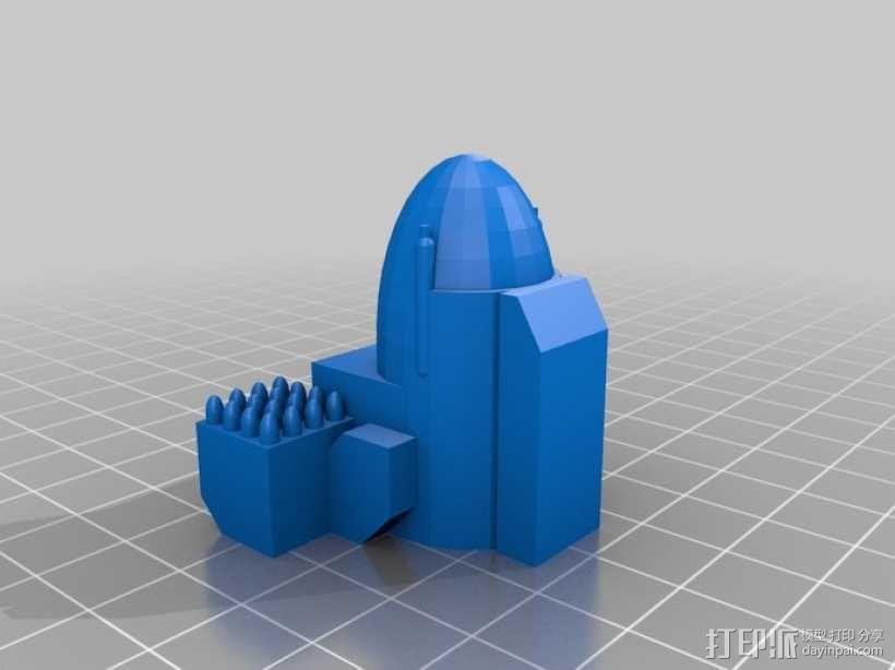 Mad Cat 装甲机器人 3D模型  图3