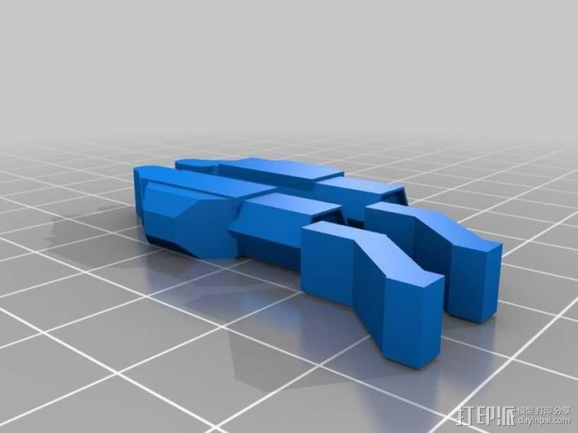 Mad Cat 装甲机器人 3D模型  图4
