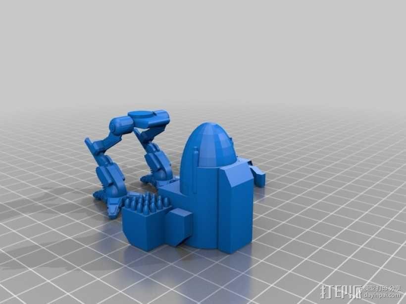 Mad Cat 装甲机器人 3D模型  图6