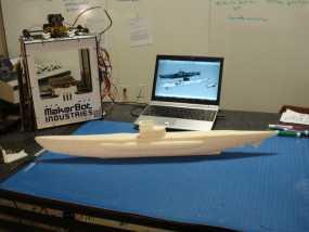 U型潜水艇 3D模型