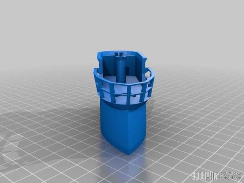 U型潜水艇 3D模型  图6