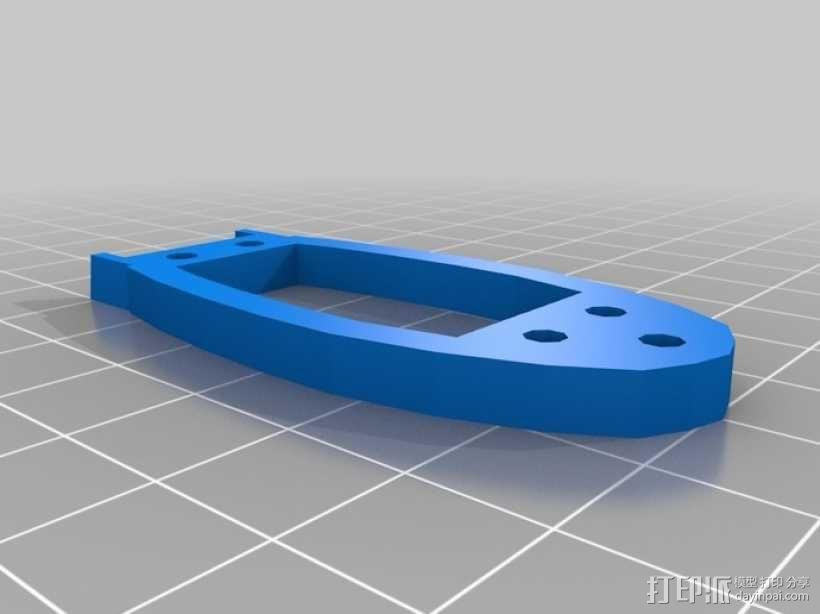 U型潜水艇 3D模型  图5
