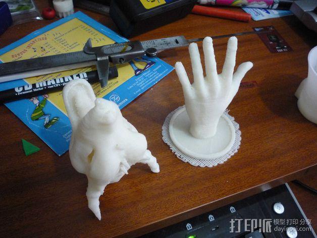 外星人头像 3D模型  图4