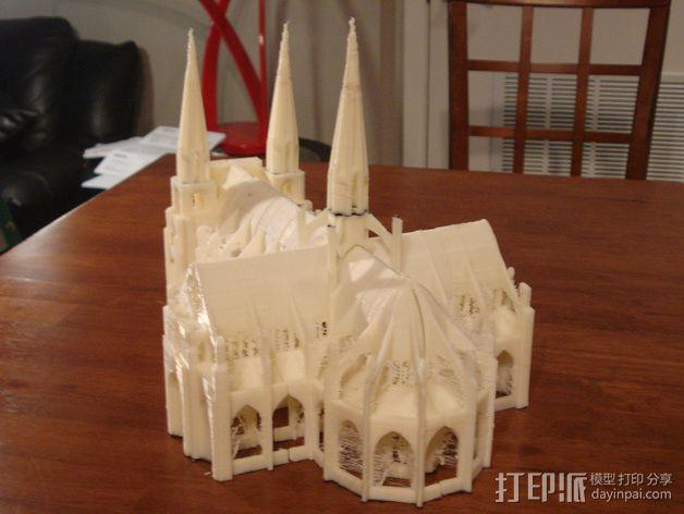 哥特式大教堂 3D模型  图6