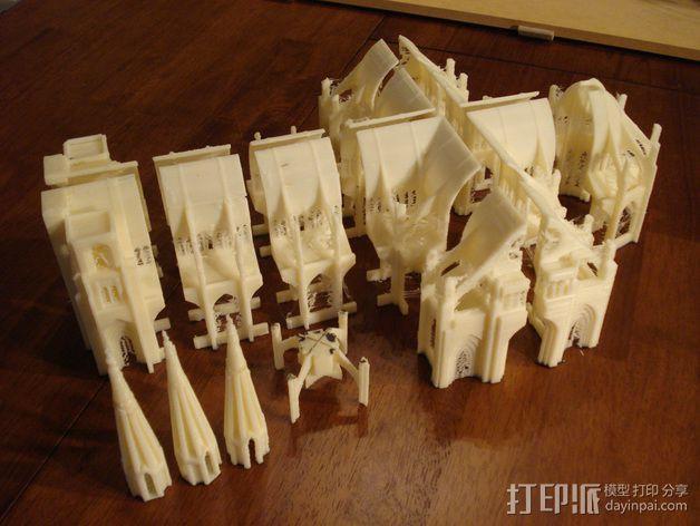 哥特式大教堂 3D模型  图5