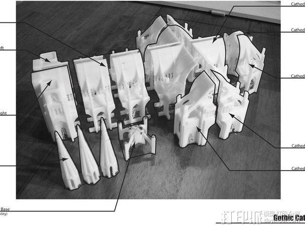 哥特式大教堂 3D模型  图8