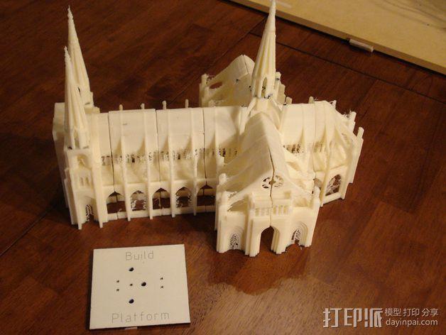 哥特式大教堂 3D模型  图7