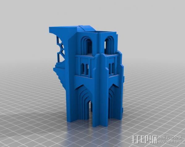 哥特式大教堂 3D模型  图9