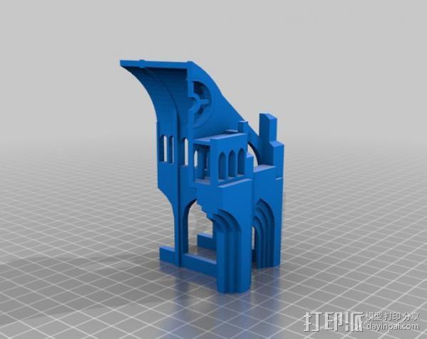 哥特式大教堂 3D模型  图13