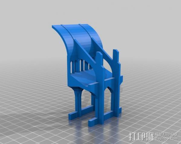 哥特式大教堂 3D模型  图12