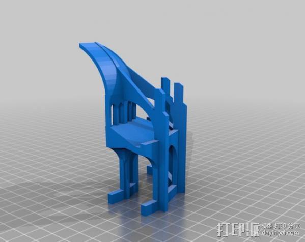 哥特式大教堂 3D模型  图14