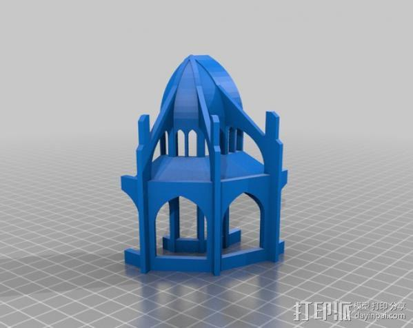 哥特式大教堂 3D模型  图15