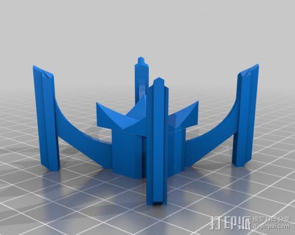 哥特式大教堂 3D模型  图17