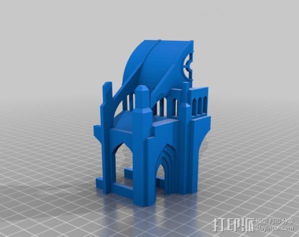 哥特式大教堂 3D模型  图16