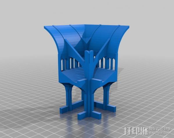 哥特式大教堂 3D模型  图19