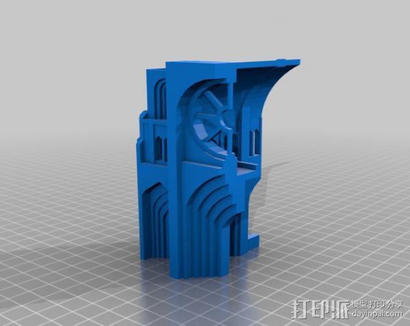 哥特式大教堂 3D模型  图20