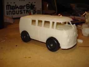 VW公共汽车 3D模型