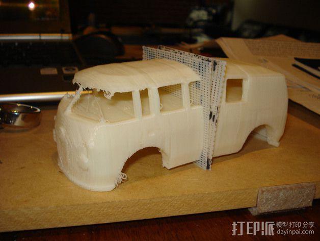 VW公共汽车 3D模型  图1