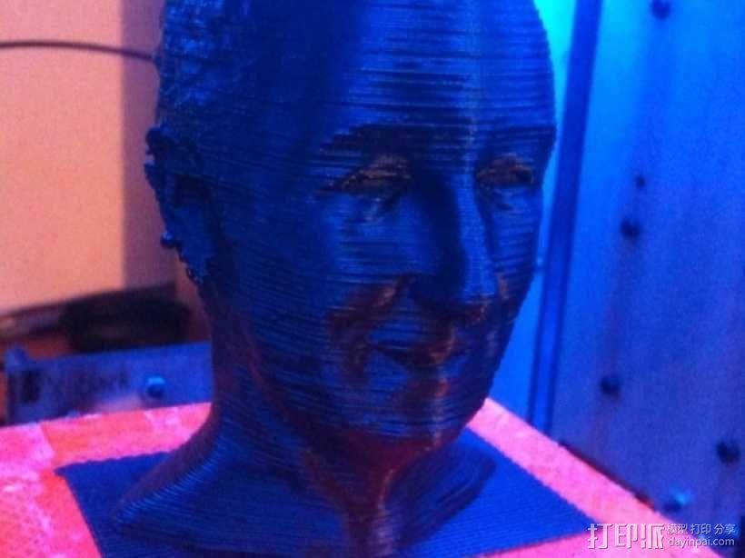 沃特·迪斯尼 头像 3D模型  图2