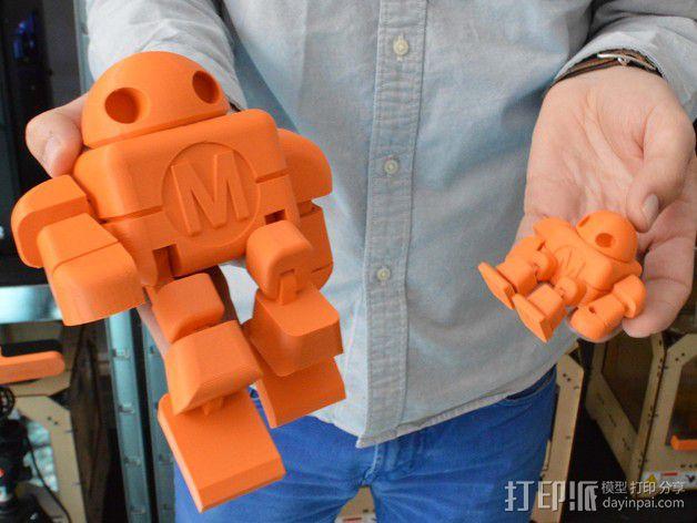 制汇节 机器人 3D模型  图3