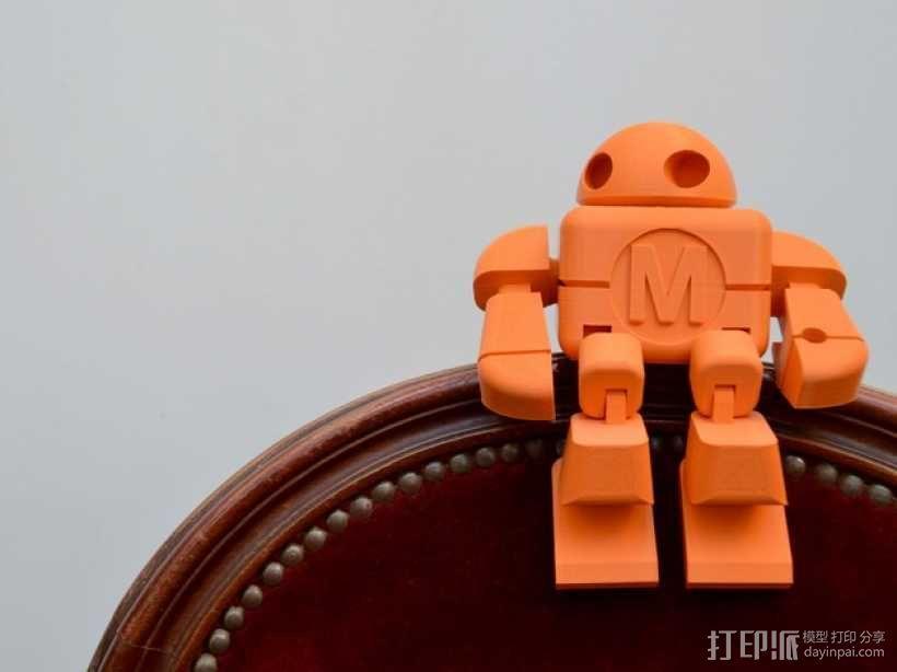 制汇节 机器人 3D模型  图1
